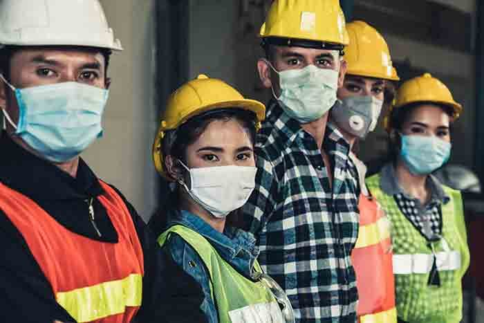 Ensure Face Mask Detection & Temperature Screening Inside Manufacturing Industries