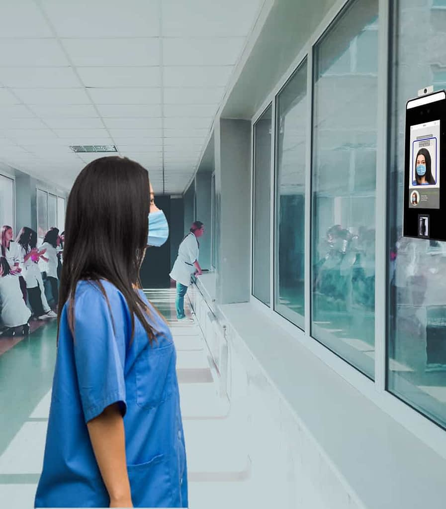 Employee Shift Scheduling Software, Face Mask Detection & Temperature Screening